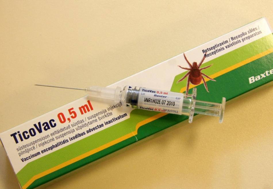Вакцинация от энцефалита детям